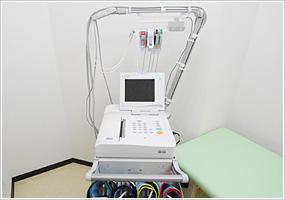 心電図・血圧脈波検査装置